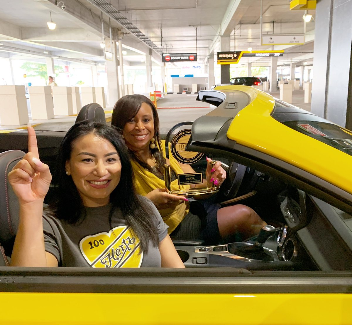 We're thrilled to announce Hertz is ranked #1 in Rental Car Customer Satisfaction by J.D. Power – and it's all thanks to you! #1Hertz