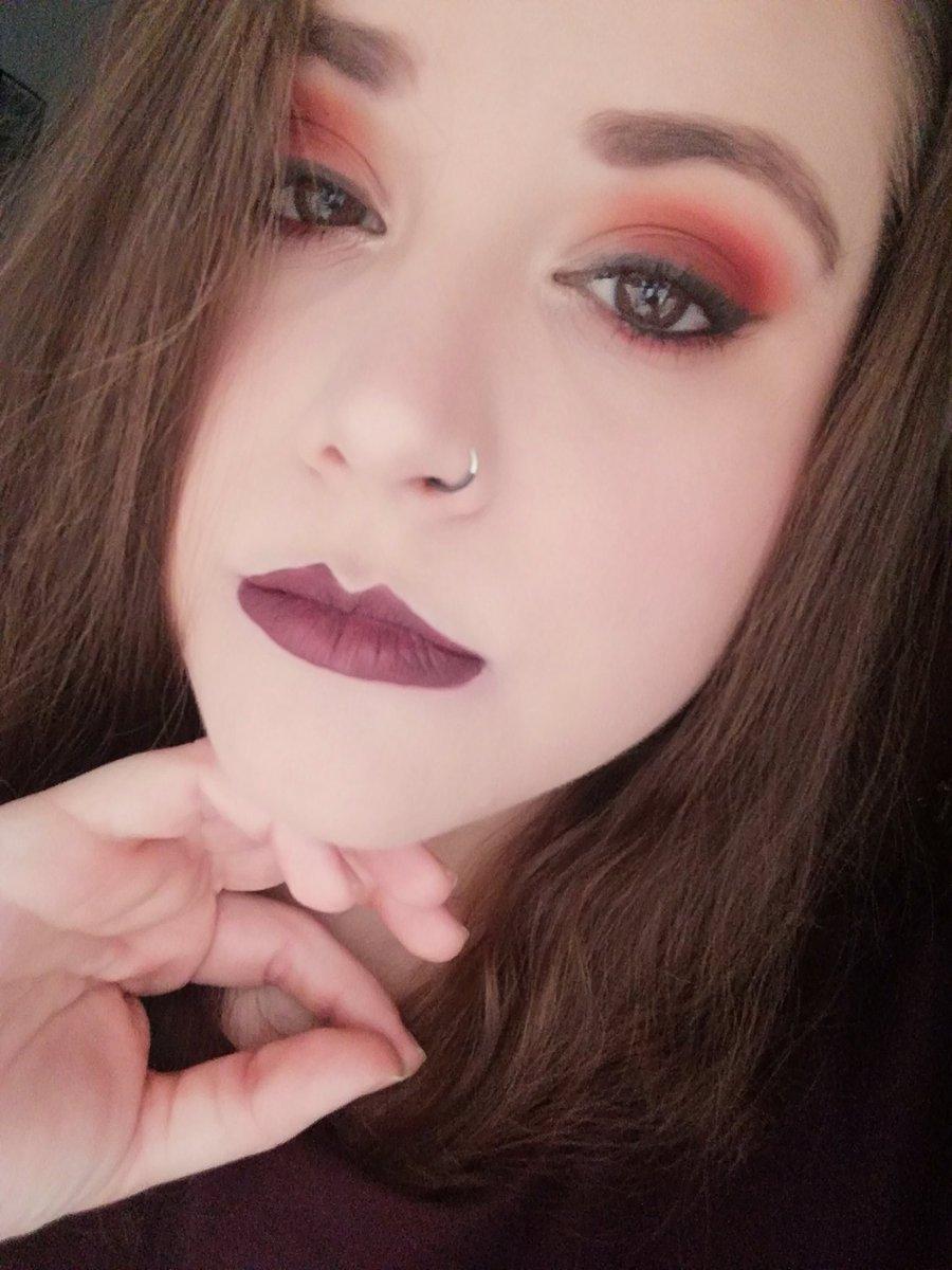 Me flipa el maquillaje y hoy me apetecía hacerme algo, he aquí el resultado #makeup #makeupaddict
