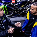 Coming soon… 🐐 + 🐐 = 🤯 #LH44VR46  @LewisHamilton @ValeYellow46 @MercedesAMGF1 @MonsterEnergy #MonsterEnergy #MotoGP #F1 #GOAT #Motorsports