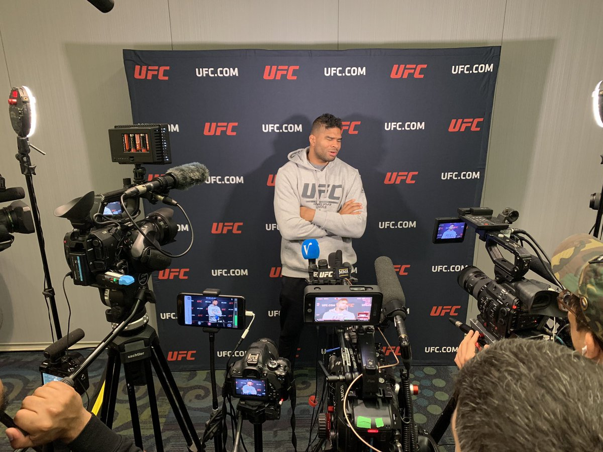 #UFCDC media day, aka the Dutch takeover, in full swing. Coverage coming to @MMAjunkie.