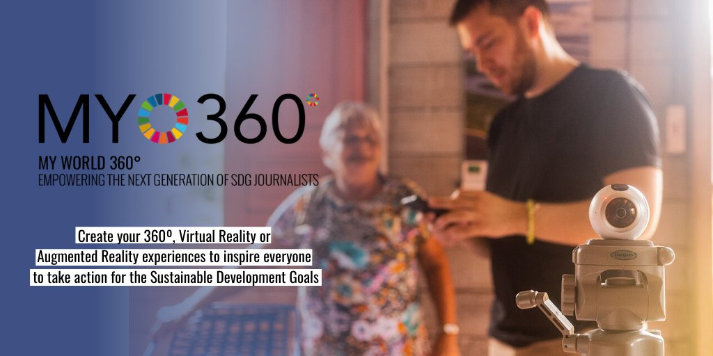 📣ANNOUNCEMENT! Excited to launch a new round of #MYWorld360🌐 in partnership with @oculus & @Global_DP. Calling #innovative content creators & educators to become the next 360° #immersive storytellers to inspire #SDGAction #ForPeopleForPlanet #VR #AR 👉bit.ly/2MpnRc3
