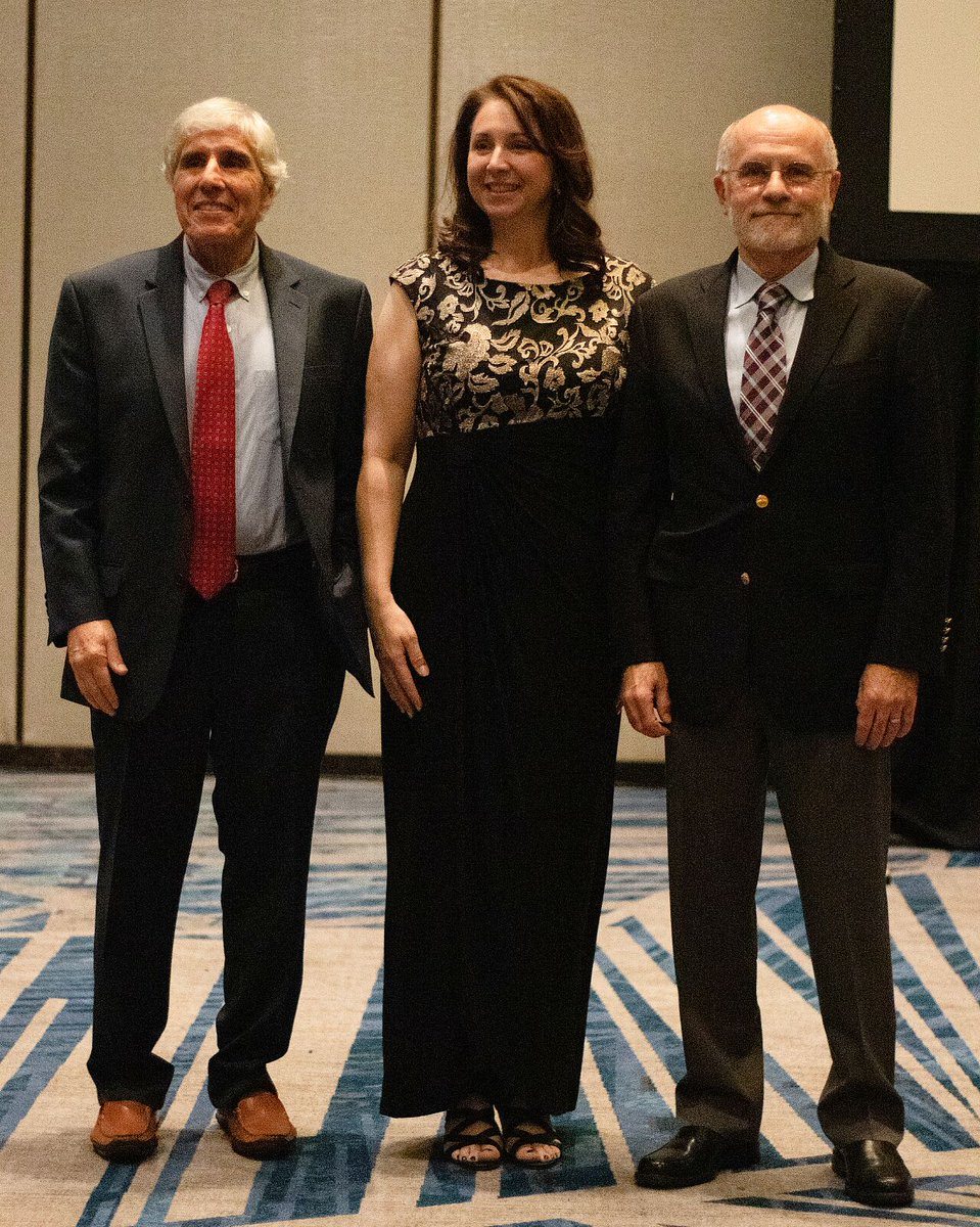 Howard Shane, Tiffany Hogan @tiffanyphogan & Robert Hillman from the department of #CSD were recognized at the #ASHA Convention's awards dinner in November. The reception gathered over 150 alumni, students & faculty, along with having 40 presentations & posters by #IHP members.