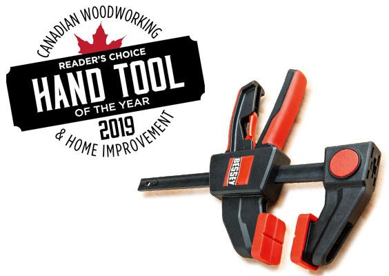 RT  #Bessey EHK Clamps WIN the Canadian Woodworking Hand Tool of he Year award:  #Woodworking #Workshop #Furniture #DIY #HandMade #Tools #JobSite…