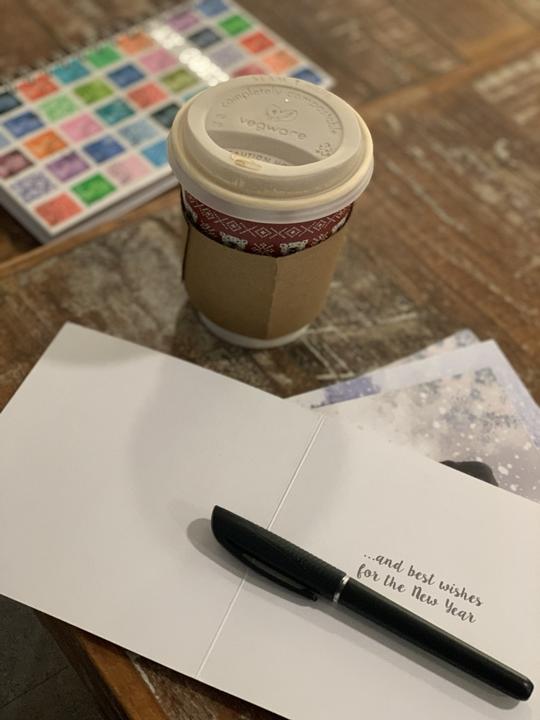 …. from writing code and app supports…. to writing Christmas cards! . #feelingfestive #christmas #christmascards #writingcode #appsupport #appdeveloper #coffeeandcards #allinadayswork #christmascheer #ios #iosdevelopers #iosdeveloper<br>http://pic.twitter.com/CylhgbTeez