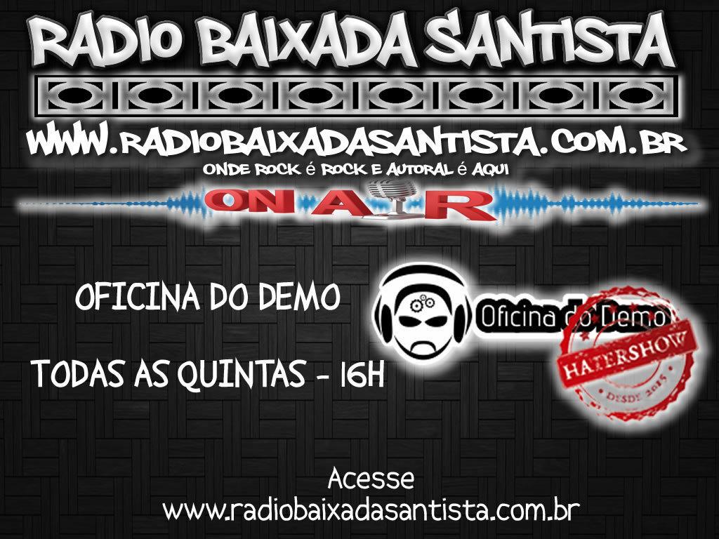 Fala Galera!!! #RadioBaixadaSantista Todas as Quintas 16h Programa #OficinadoDemo   #heavymetal #rocknroll #deathmetal #blackmetal #music #trashmetal #powermetal #blackeneddeathmetal #rockmetal #staymetal #metalhead