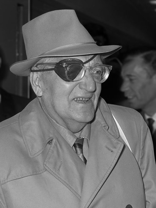 Fritz Lang was born on this date December 5 in 1890. Photo by Joost Evers. #OTD<br>http://pic.twitter.com/eJuEXgB8GQ