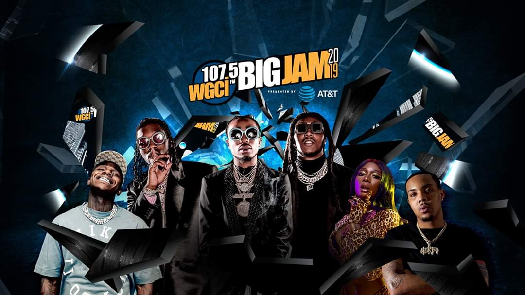 @Migos @gherbo @DaBabyDaBaby @Wale about to get lit  🔥🔥🔥🔥 #bigjam2019 #concert