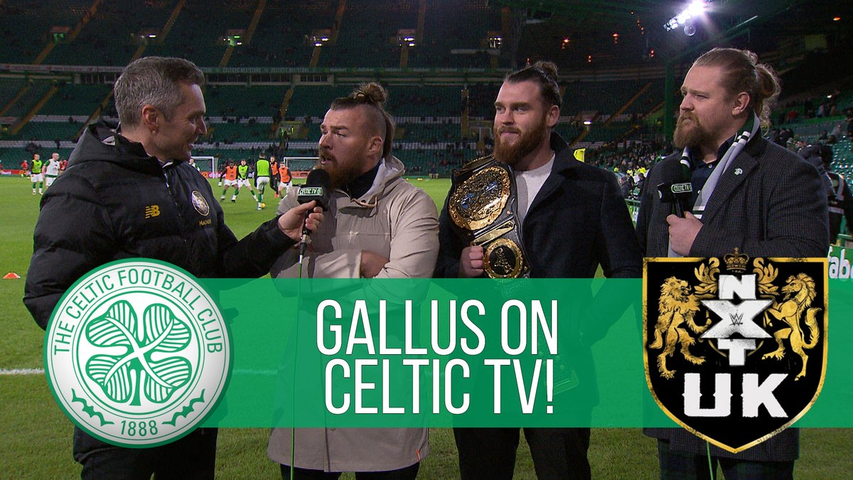 ✅@m_coffey90: NXT UK Tag Team Champion✅@WolfgangYoung: NXT UK Tag Team Champion🔜@Joe_Coffey: @WWEUK Champion?👊 Be afraid Walter, the #Gallus Bhoys told @CelticTV they are focused on completing their own historic Treble at @NXTUK Takover: Blackpool II! 🍀@WWE
