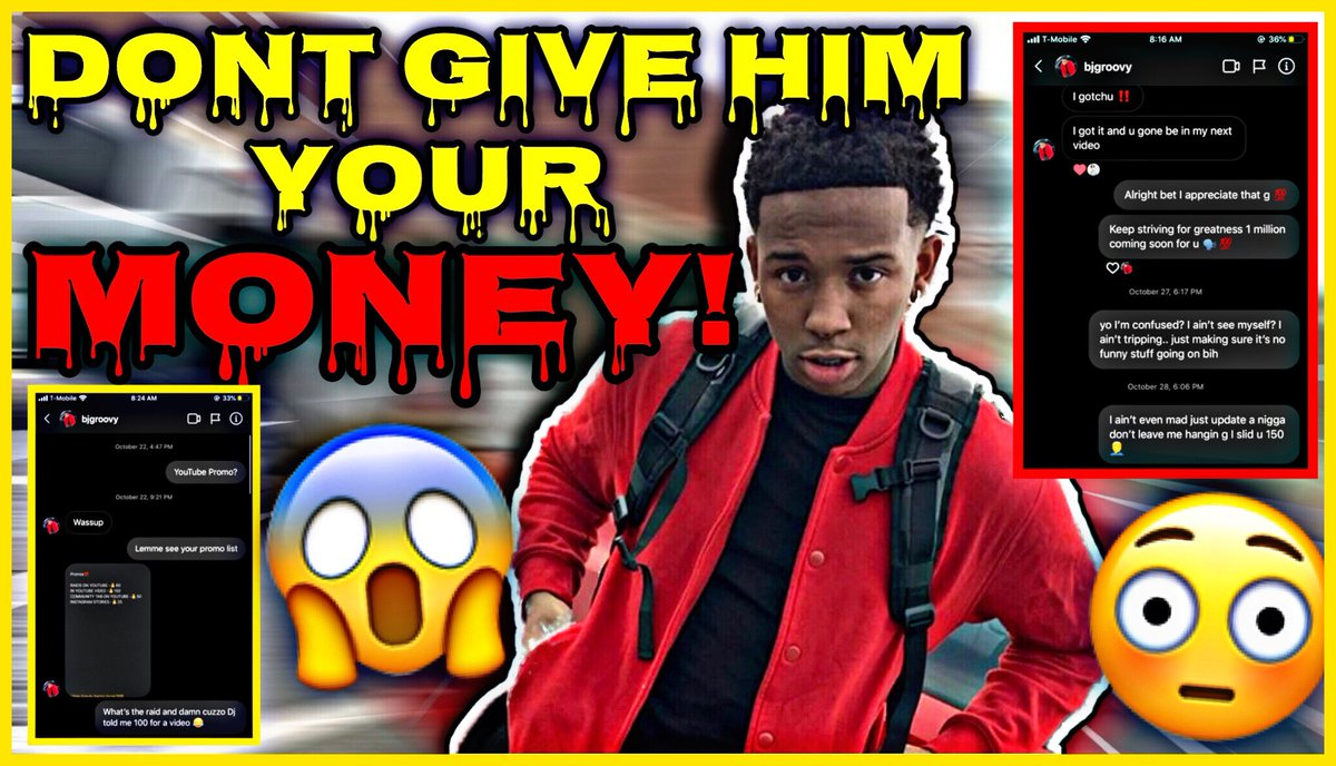 BJ GROOVY EXPOSED‼️😳😱 DO NOT PAY HIM FOR PROMOS ❌💰 ( DMS EXPOSED‼️ ) 🗣‼️ ( LINK IN THE BIO‼️ )  #fun #funnyvideos #funny #explore #explorepage #youtube #youtuber #hilarious #hilariousmemes #video #worldstar #lmao #viral #trending #comedy #likes #likeforlike #follow
