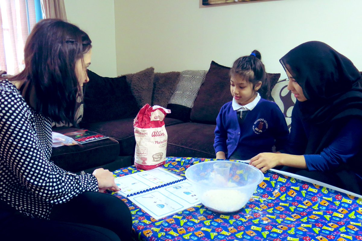 Today I visited a very special little girl's house for a @REALOldham home visit. I was blown away with the engagement and interactions between all the family. A very heartwarming morning 💜✨💜 #REALoldham #REALhomevisits #ORIM @ncbtweets #powerofREAL #improvingliteracy #EYFS