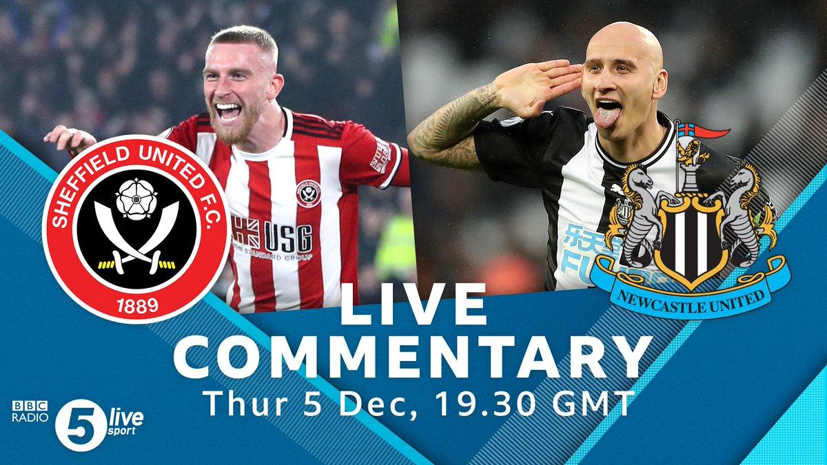 ⚽️ Kick offSheffield United v Newcastle United🎙️Alan Green & @Osman21Leon 🏟️ Bramall Lane#⃣#SHUNEW #SUFC #NUFC Listen live👇🎧⚽️: http://bbc.in/33WwRdT#bbcfootball
