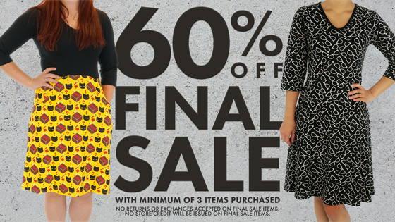 60% OFF FINAL SALE when you purchase 3 items or more! Plus FREE U.S shipping for orders $100+!    #svahausa #clearance #dresseswithpockets #dresswithpockets #geekfashion #steam #stem #svahasmiles #sale #holidayshopping