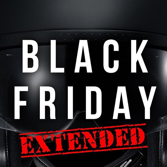 Our Black Friday sale has been EXTENDED!!! For loads of great offers and prices go to any of our 30 stores nationwide or online here:  #BlackFriday #Sale #CyberMonday #Motorcycle #Motorbike #Motorcycleclothing #Helmet #Motorcycleboot #Motorcycleglove