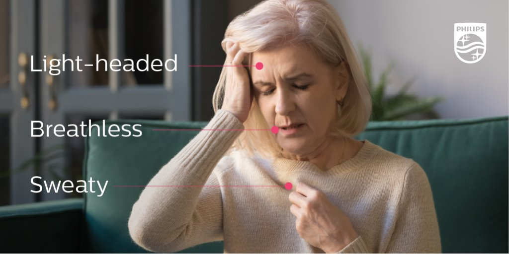 Women are more likely than men to have heart attack symptoms unrelated to chest pain. Share this with friends and family who may find it helpful! #PhilipsTranslates https://t.co/uCB84hBHBe