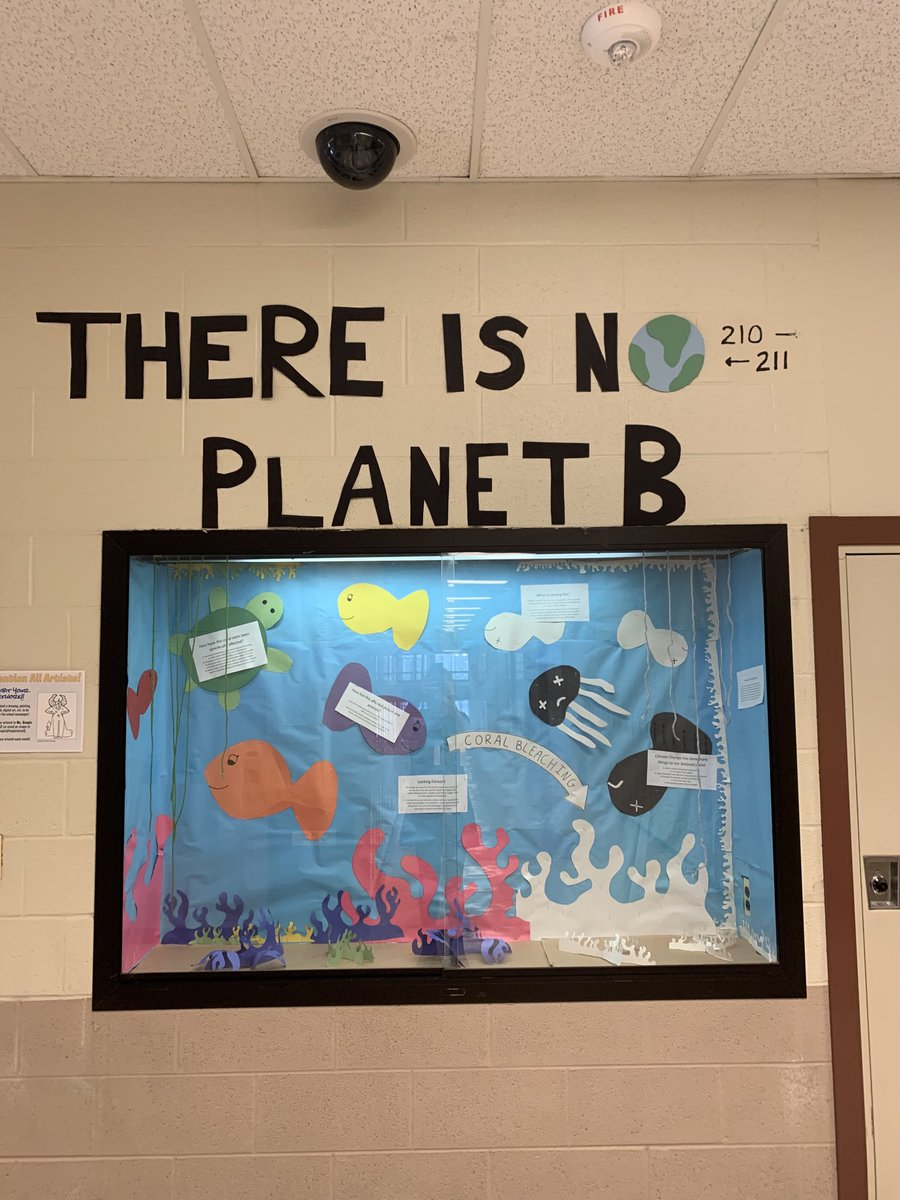 A student-created showcase. #green