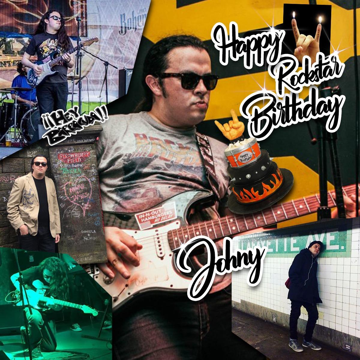 Hoy estamos de manteles largos, ya que nuestro Lead Guitar y Vocalista Johny ¡Cumpleaños!, ¡Muchas Felicidades! 🥳✨🤘🏼🍻🍻🍻🍻 #HappyBirthday  #Rock #Rockers #felizcumpleaños #lead #leadguitar #rocknroll #Monterrey #Mexico