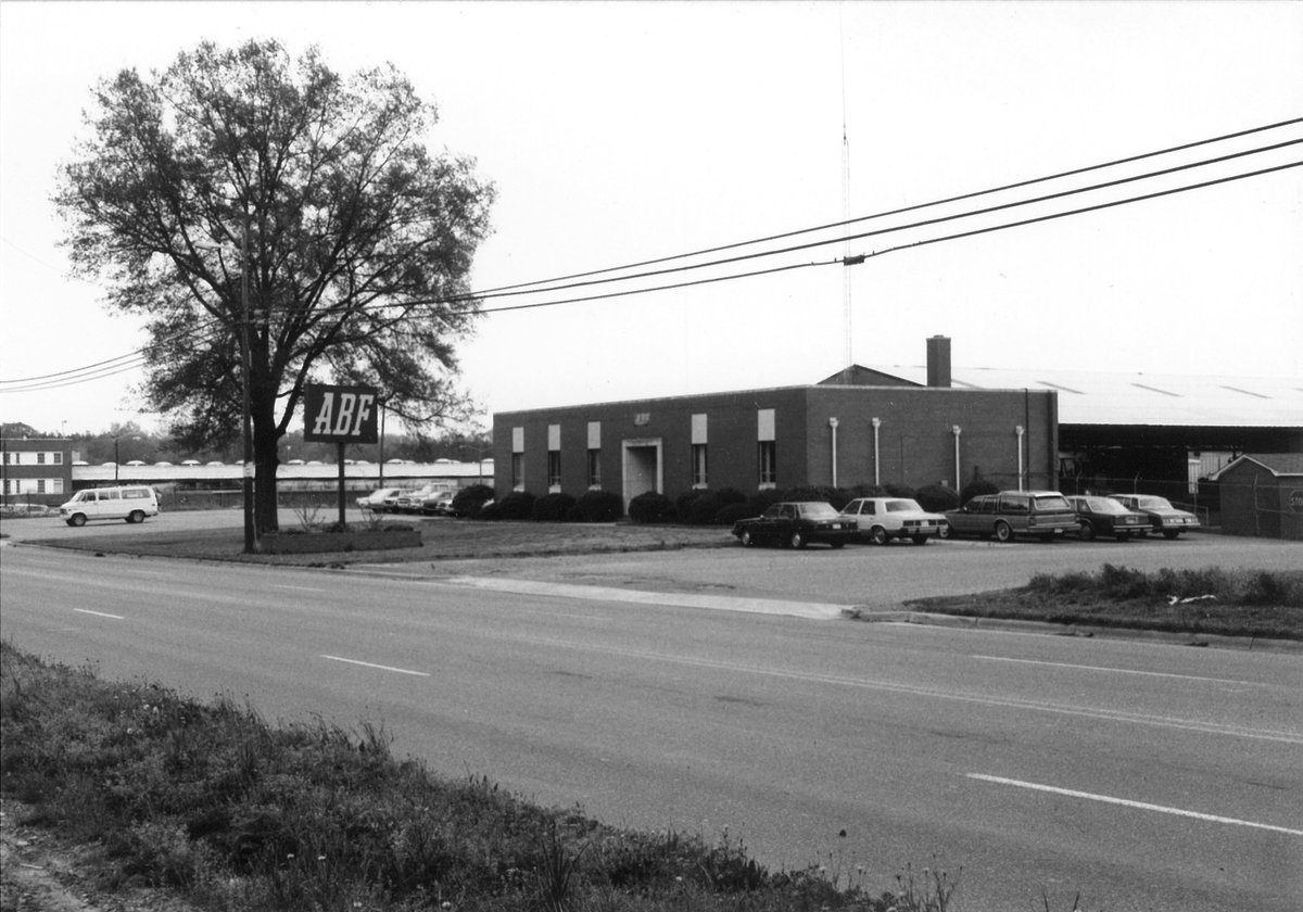 Throwback Thursday: The ABF Freight service center in Charlotte, N.C., is seen in 1980. #TBT #throwback #trucking #trucks #truckers
