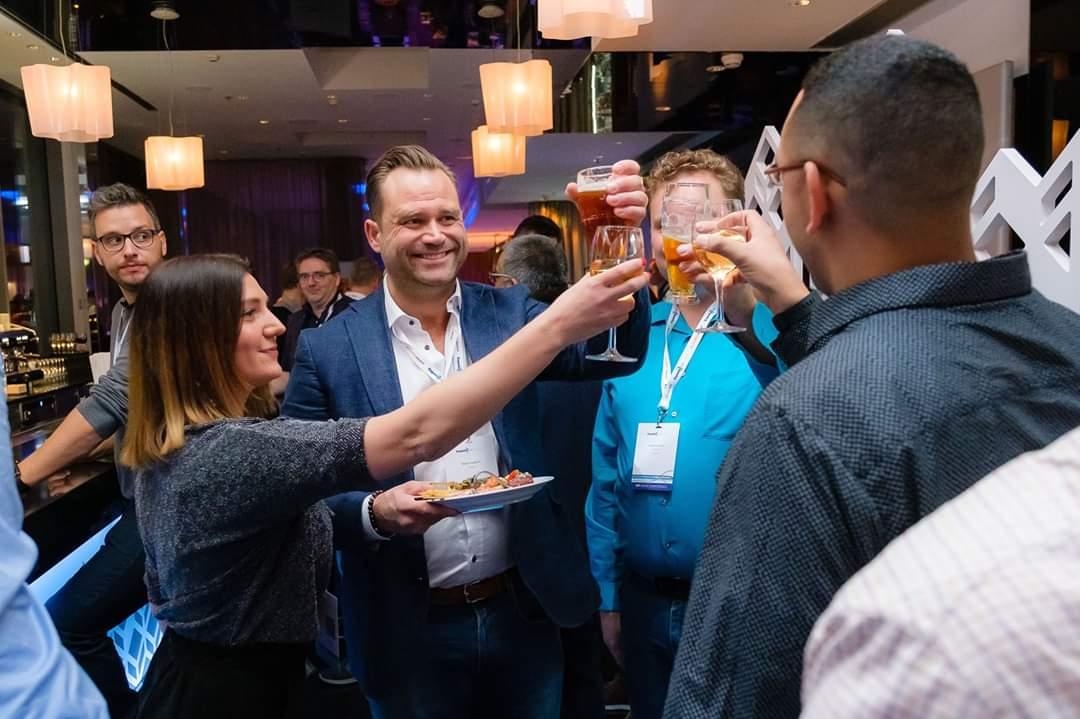 Cheers! #ThrowBackThursday #ExpertsLiveEU #Cloud9 @ITPirate @RobertandDPM @buchatech #TBT