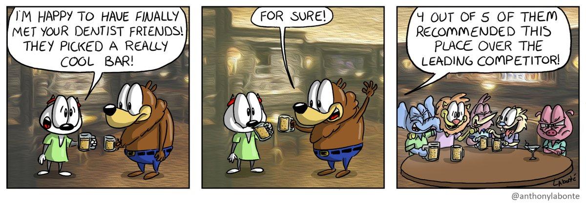 Great Bar #Art #Cartoon #Comics #Comicstrip #Webcomics