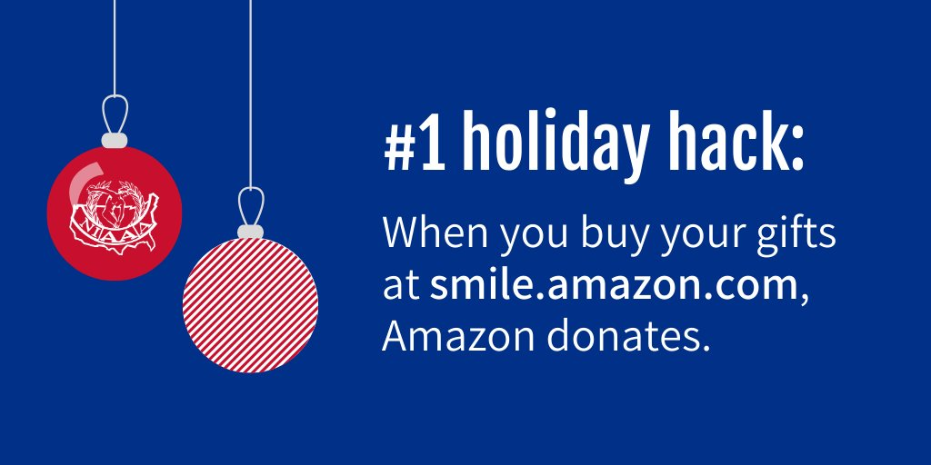 Did you know that when you shop for the holidays at smile.amazon.com/ch/43-1259311, AmazonSmile donates to the NIAAA?