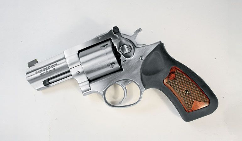 Two simple, inexpensive DIY upgrades made this Ruger GP100 feel like a new gun.  #handgunsmag #upgrade #diy #revolvers