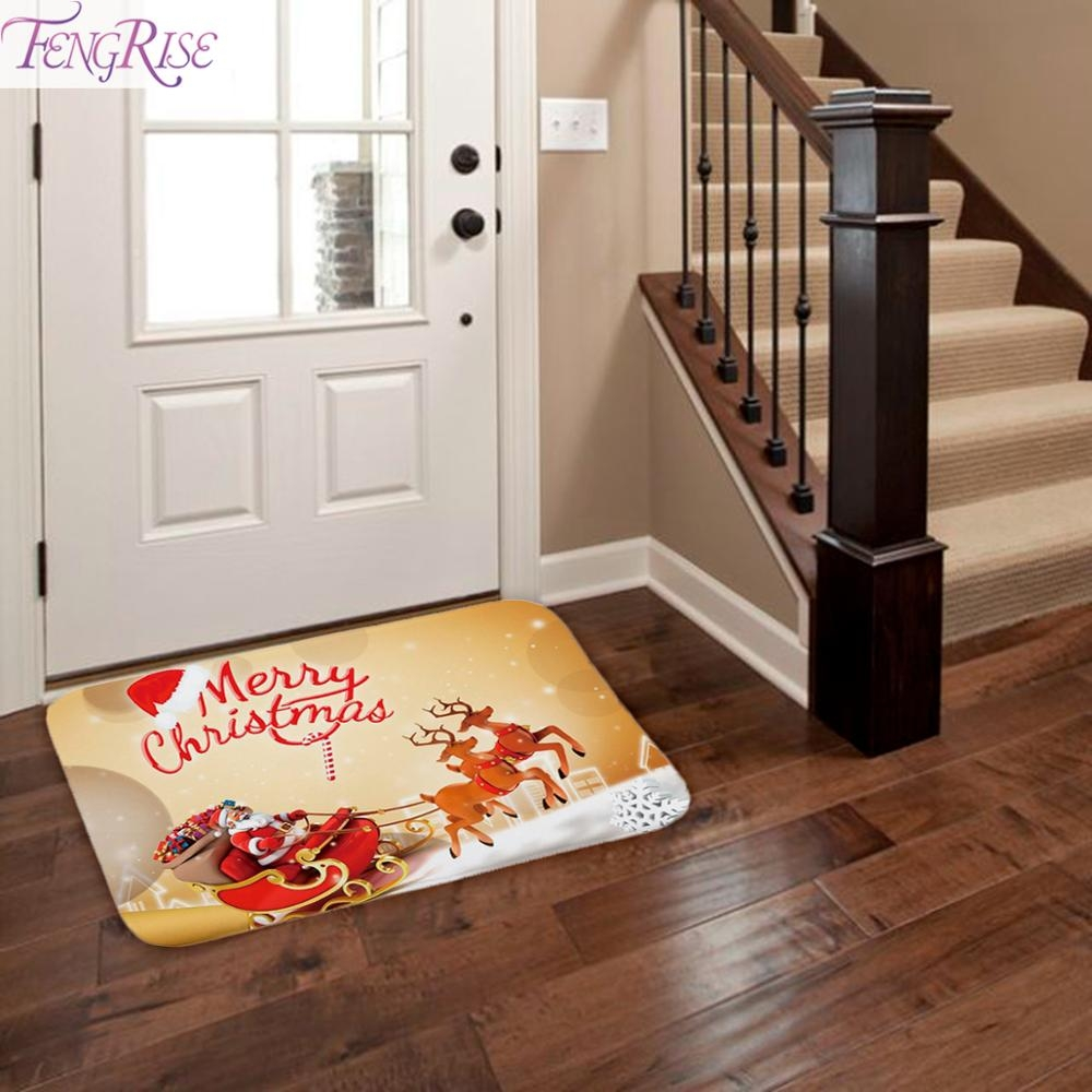 #glam #stylish Christmas Doormat Christmas Decorations For Home