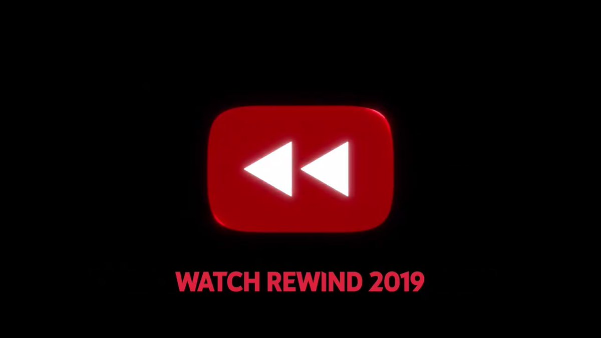 in 2018 we made something you didn't like... so in 2019... #YouTubeRewind https://youtu.be/2lAe1cqCOXo
