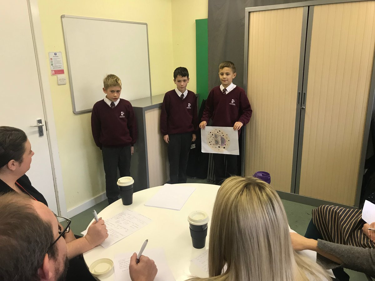 Y6 Business and Enterprise Week continues with each group pitching to the St Chad's Parent Dragons -  who were much friendlier than those on Dragons' Den!  The Parent Dragons were so impressed with you Y6 - well done!