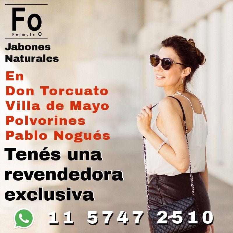 AHORA TAMBIÉN TENÉS UNA REVENDEDORA Formula O EN DON TORCUATO, VILLA DE MAYO, POLVORINES Y PABLO NOGUÉS  Hacé tu pedido y combiná la entrega.  WP: 11 5747 2510  #moda #cosmeticanatural  #salud #higiene #cuidadopersonal #tendencias #argentina