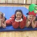 Image for the Tweet beginning: Our gymnasts enjoyed training tonight