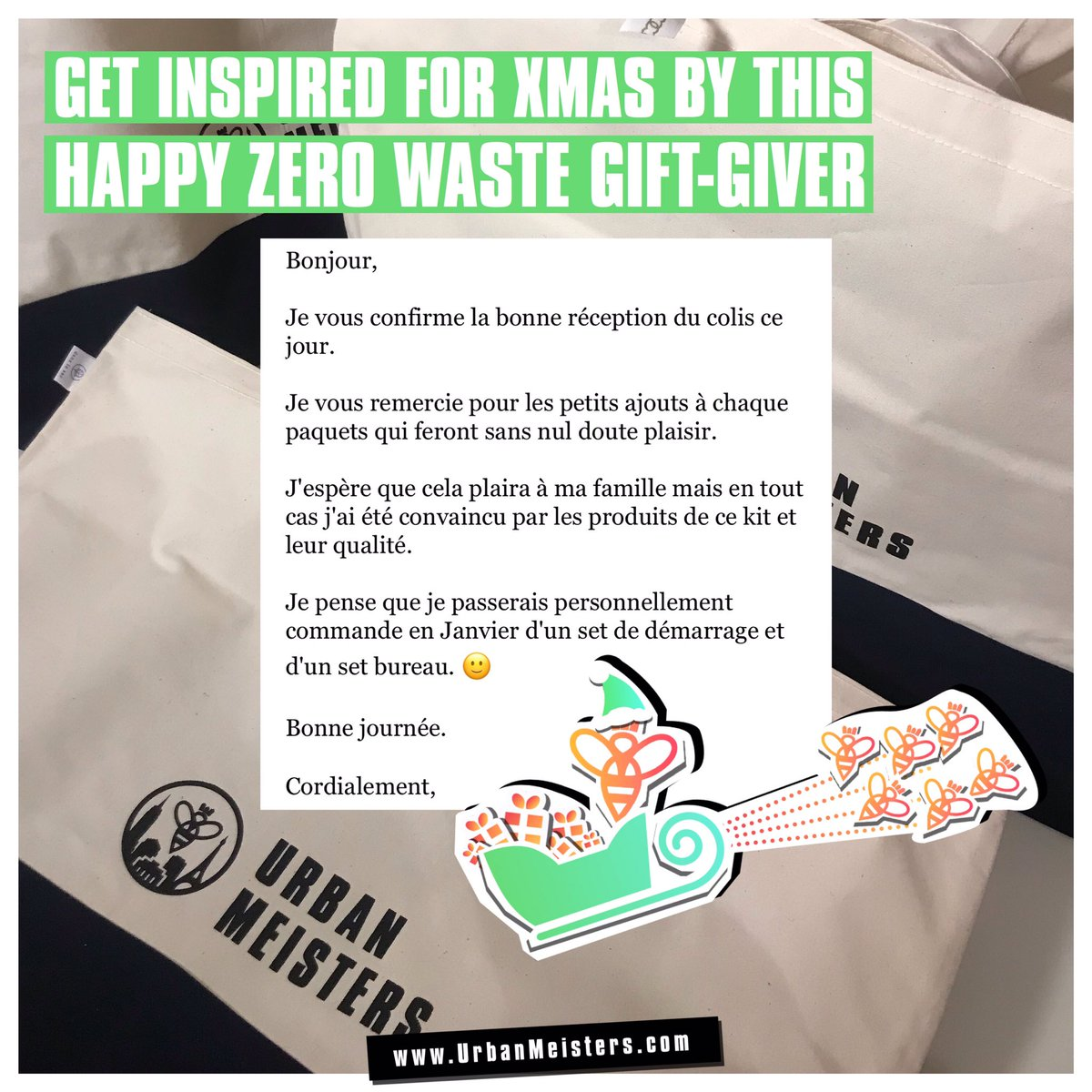 #Sustainability for #Xmas helping your #family and #friends kick-off a #zerowaste #plasticfree and #healthy lifestyle with #gifts that last and make sense —>  #zerodechet #ecolo #cadeaux #giftideas #actonclimatechange