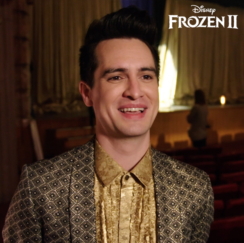 Head into the unknown with @PanicAtTheDisco in this new behind the scenes look at the making of their music video for the film. See #Frozen2, now playing in theaters.
