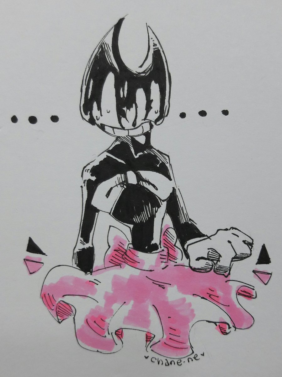 More drawings of Bendy with tutu please  <br>http://pic.twitter.com/dBC1oqx6Jq