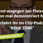 Image for the Tweet beginning: Wann und wogegen @JanFleischhauer schon