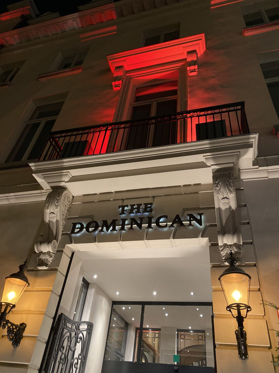 ホテルはグランプラスから徒歩5分程度のMarriottBonvoy加盟の「THE DOMINICAN」  駅や主要観光地へのアクセスも良く、バスタブ付きのシャワールームなのでゆったりと寛げます。  #neetrip  #marriottbonvoy #Brussels #Belgium #theDominican