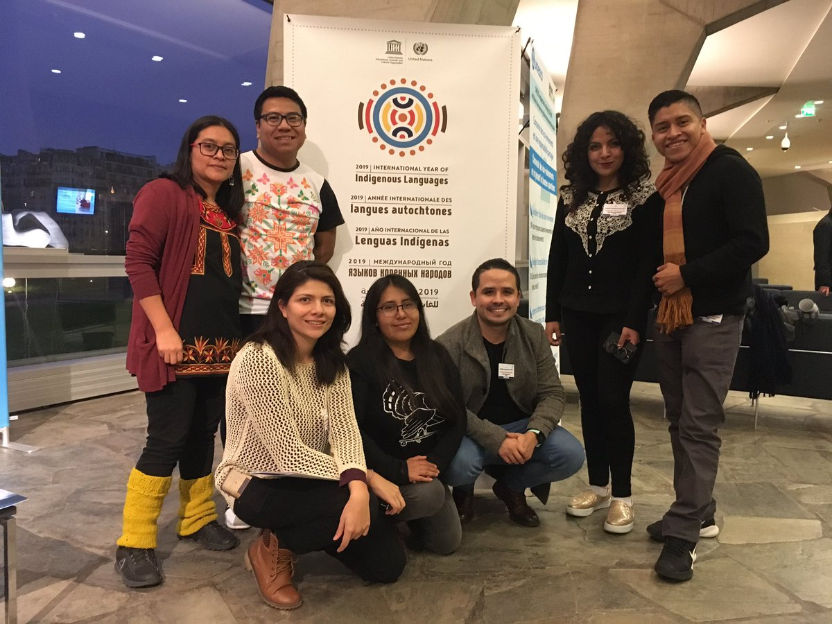 Participation from Mexico, a region with 68 languages, more than 300 dialects, 11 linguistic families. @IYIL2019  #LT4All #Unesco  #NoHayLenguaSinPueblos<br>http://pic.twitter.com/dF9XmAJ81u