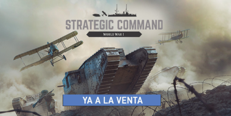 Strategic Command ya a la venta