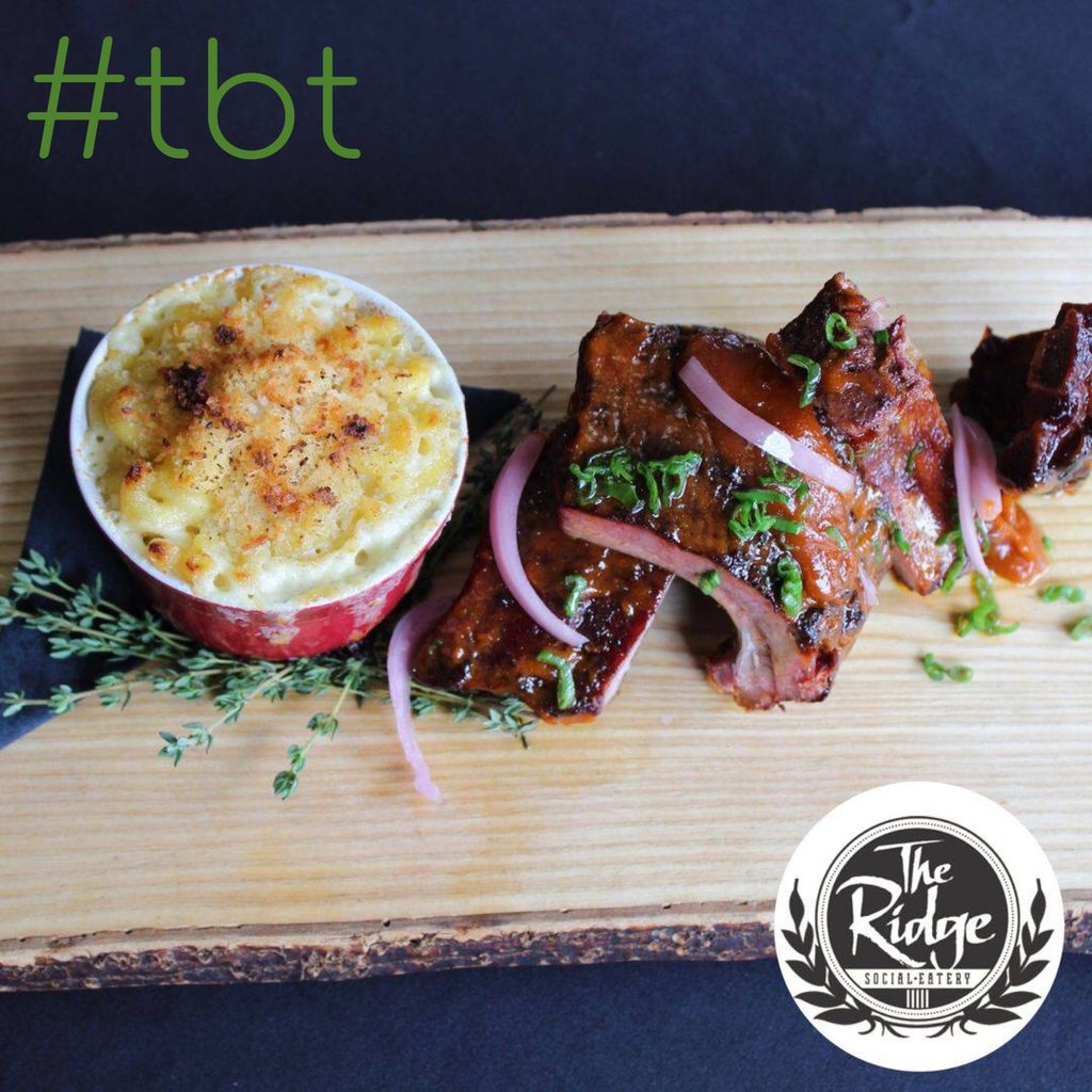 A #throwback to our delicious ribs!   #theridgesocial #restaurant #kwrestaurant #cbridgerestaurant #yummy #tasty #food #instafood #goodfood #kwawesome #newmenu