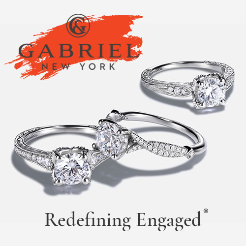 Get Fine Selection of the Engagement Rings at Gabriel New York! Link: 👈 #Gold #Silver #Wedding #Jewelry #Fine #Selection #Engagement #Rings #Gabriel #NewYork #Gifts🇺🇸💎💎💎🇺🇸