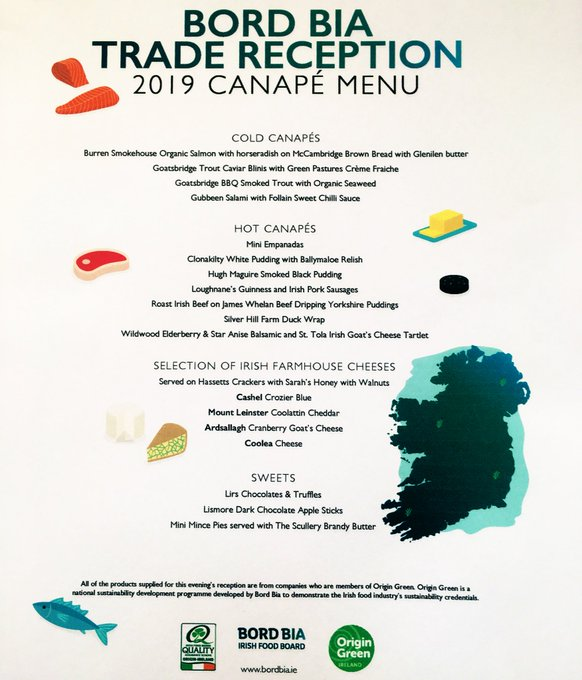 #sw1 #ireland @Foods_LONDON_UK #belgravia #ldn RT @IrelandEmbGB: With Min @creedcnw visiting #London and the annual @Bordbia reception in the Embassy tonight, we'll be celebrating the best of #Irish #food and #drink throughout the day. 💚🇮🇪☘️ Here's a taste of what's on...