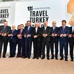 Image for the Tweet beginning: 13. Travel Turkey Fuarı bugün