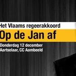 Image for the Tweet beginning: Wat betekent het Vlaams regeerakkoord