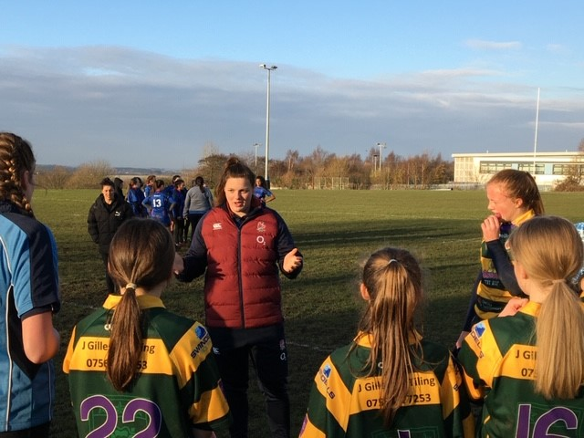 test Twitter Media - The #RedRoses have been visiting clubs across the country this week to help grow rugby as part of the #CBREAllSchools programme ⭐ https://t.co/6l7VTQ1dGd