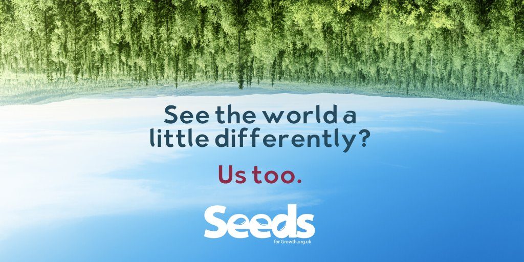 At #SeedsForGrowth, we see things a little differently. We have a vision for communities that's about enhanced health, wellbeing & access to outdoor spaces.   Want to change things up in your community? Let us know & we'll work with you to make it happen! http://www.seedsforgrowth.org.uk/listeningpic.twitter.com/XI32jYH96J