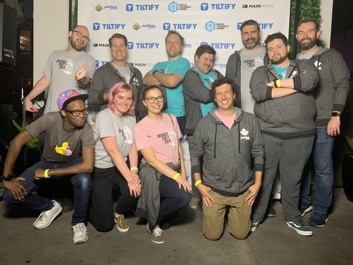 #ThrowbackThursday to the team hanging out at the @WeAreTiltify Mixer during TwitchCon 2019!