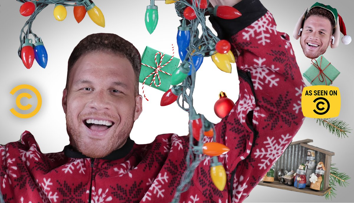 Blake the Halls! We played Santa for @blakegriffin23, as he unboxed #AsSeenOnCC holiday gifts. Shop now: asseenoncc.com
