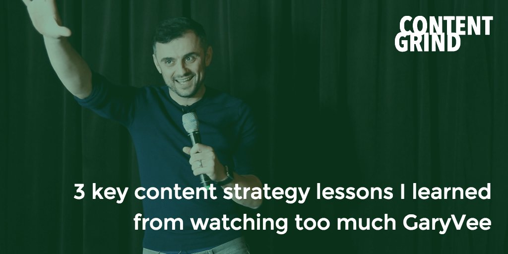 When it comes to #contentmarketing, hustle helps, but it's nothing without the strategy to match.  https:// buff.ly/2PjUwD7     #garyvee <br>http://pic.twitter.com/fQZ2Fl3hsW