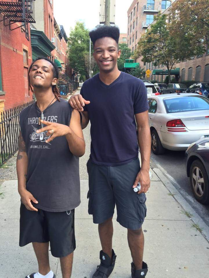Etika, I miss you bro. The Youtube rewind shit wouldnt even have done you justice b As much as I wanna punch you in the face for how you left us, I love you bruh Until next time (Nigga made me take this picture when I was bummin it to the store lookin dusty. Tall ass bitch lmao)