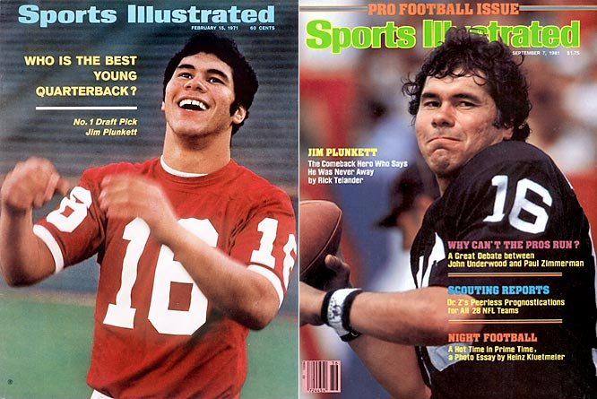 happy birthday Jim Plunkett and I wish you many more the last real quarterback that call his own plays