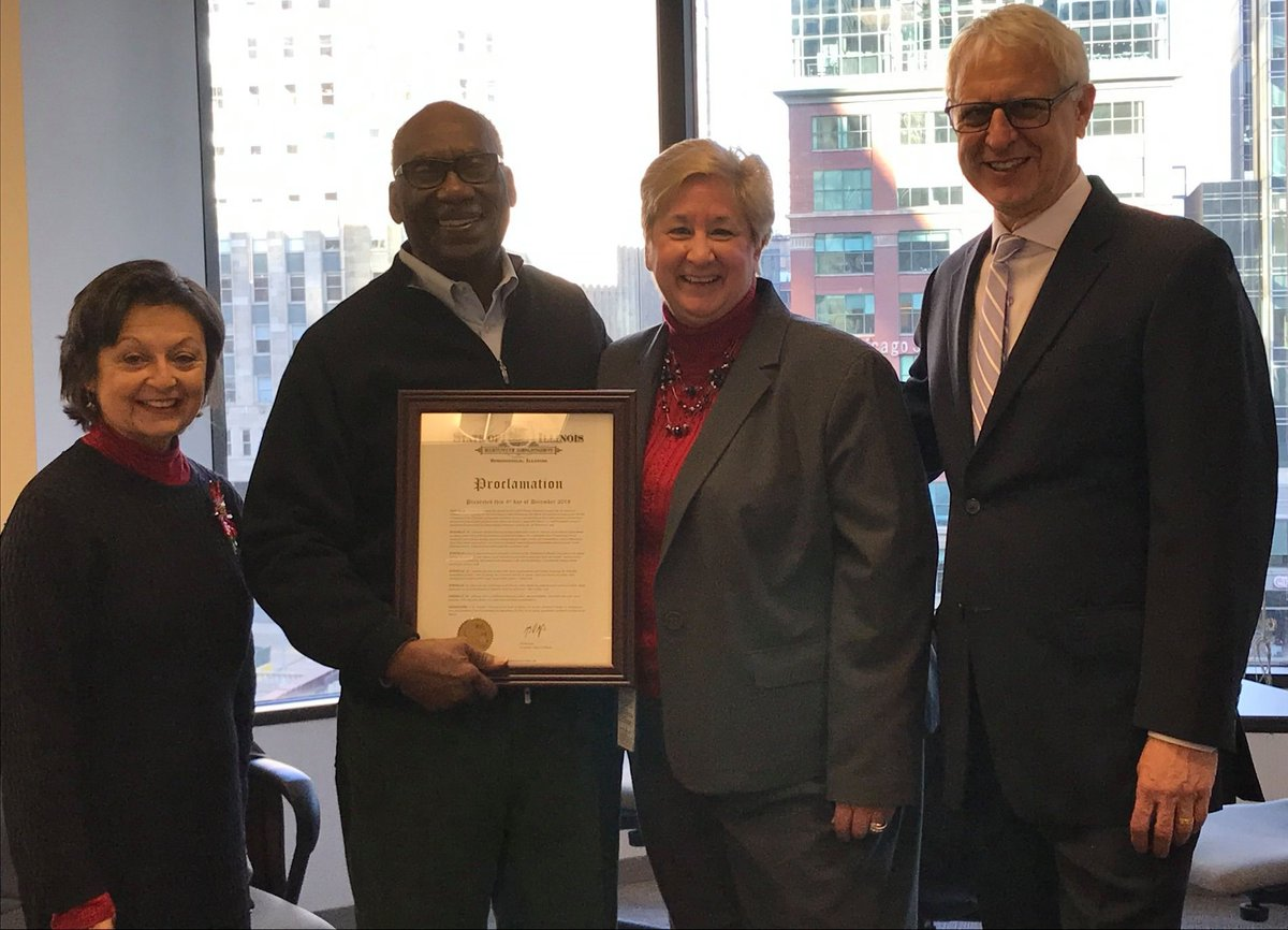 Illinois Department On Aging On Twitter Presented Former Idoa Director Charles Johnson A Proclamation From Govpritzker Congratulating Him For Being An Advocate For Our Most Vulnerable Citizens For Over 4 Decades From